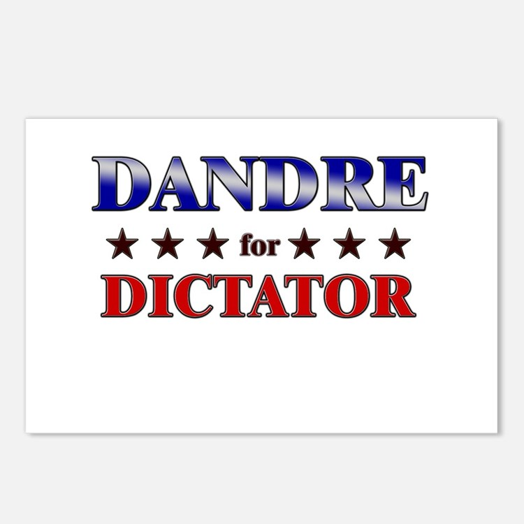 DANDRE for dictator Postcards (Package of 8)