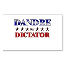 DANDRE for dictator Rectangle Decal