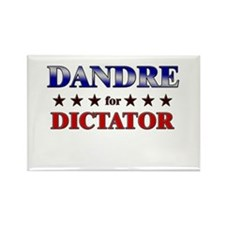 DANDRE for dictator Rectangle Magnet