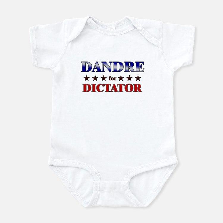 DANDRE for dictator Infant Bodysuit