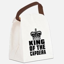 King Of The Capoeira Canvas Lunch Bag