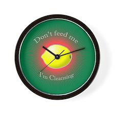 Lemonade diet Wall Clock