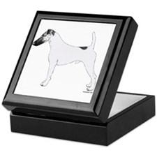 Fox Terrier Keepsake Box