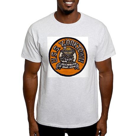 USS YORKTOWN Light T-Shirt
