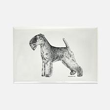 Lakeland Terrier Rectangle Magnet (10 pack)