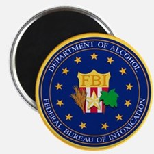 """FBI - Department Of Alcoho 2.25"""" Magnet (10 pack)"""