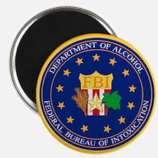FBI - Department Of Alcohol Magnet