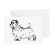 Norfolk Terrier Greeting Cards (Pk of 10)