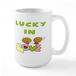 Lucky in Love Large Mug
