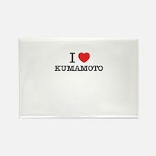 I Love KUMAMOTO Magnets