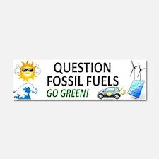 Question Fossil Fuels Car Magnet 10 X 3