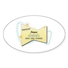Instant Archivist Oval Decal