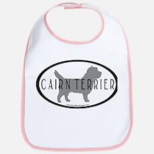 Cairn Terrier Oval #2 Bib