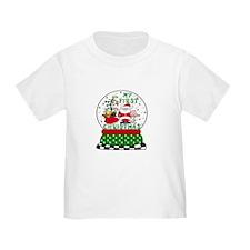 Snowglobe Santa Baby 1st Xmas T