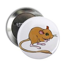 """Titter Mouse 2.25"""" Button (10 pack)"""
