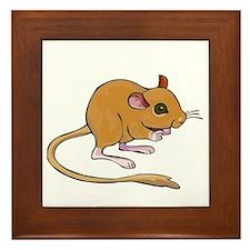 Titter Mouse Framed Tile