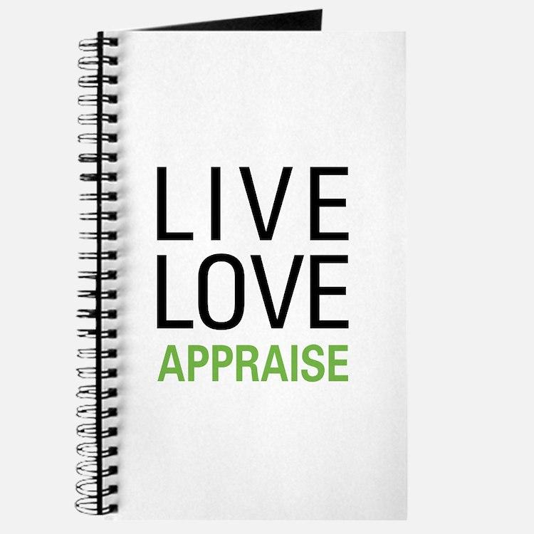 Live Love Appraise Journal