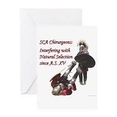 Natural Selection Greeting Card