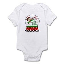 Snow Globe/Peeking Baby Candy Infant Bodysuit