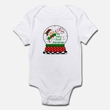 Snow Globe/Peeking Baby Candy Infant Bodysuit