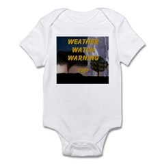 AFTM Weather Watch Warning 2 Infant Bodysuit