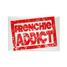 Frenchie ADDICT Rectangle Magnet