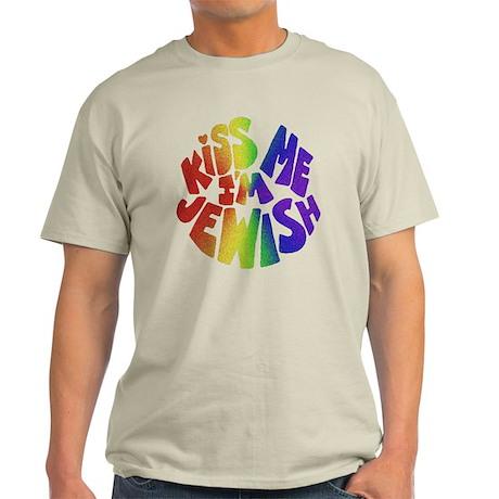 Jewish Kiss - Light T-Shirt