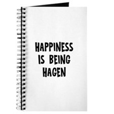 Happiness is being Hagen Journal