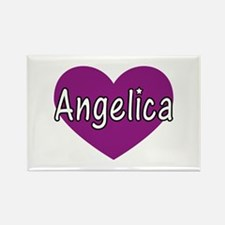 Angelica Rectangle Magnet