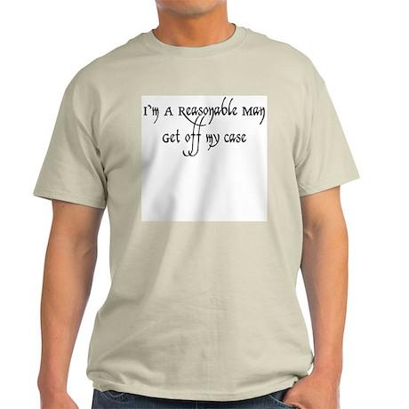 Reasonable Man Light T-Shirt