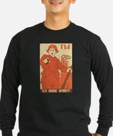 Red Army Long Sleeve T-Shirt