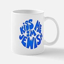 Jewish Kiss - Blue - Mug