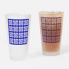 Mexican Tile Drinking Glass