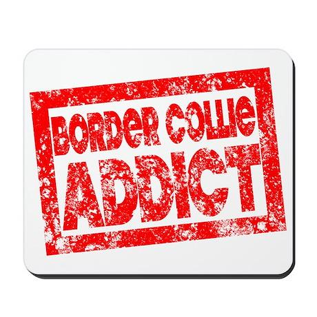 Border Collie ADDICT Mousepad