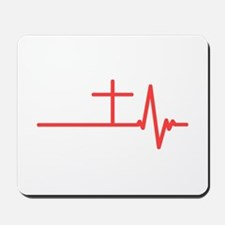 Jesus is Life Mousepad