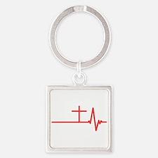 Jesus is Life Keychains