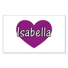 Isabella Rectangle Decal
