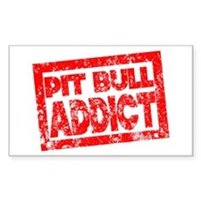 Pit Bull ADDICT Decal