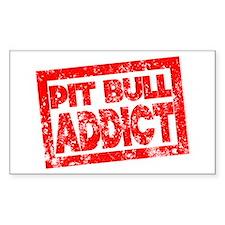 Pit Bull ADDICT Decal