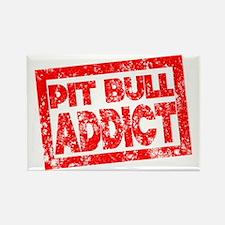 Pit Bull ADDICT Rectangle Magnet