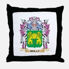 Reilly Coat of Arms - Family Crest Throw Pillow
