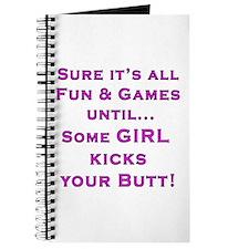Girls Kick Butt Journal