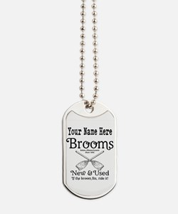 New & used Brooms Dog Tags