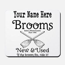 New & used Brooms Mousepad