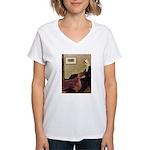 Whistler's / Irish S Women's V-Neck T-Shirt