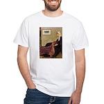 Whistler's / Irish S White T-Shirt