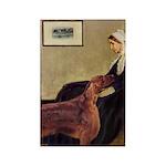 Whistler's / Irish S Rectangle Magnet (10 pack)