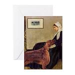 Whistler's / Irish S Greeting Cards (Pk of 20)