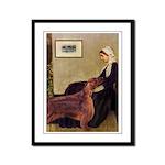 Whistler's / Irish S Framed Panel Print