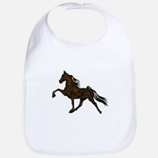 Cute Tennessee walking horses Bib